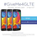 Join me for the #GiveMe4GLTE Twitter Party!