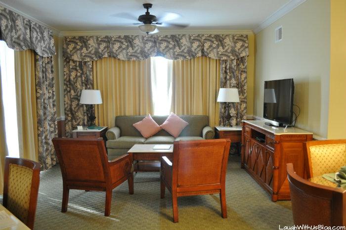 Cypress Point Resort Florida Living Room