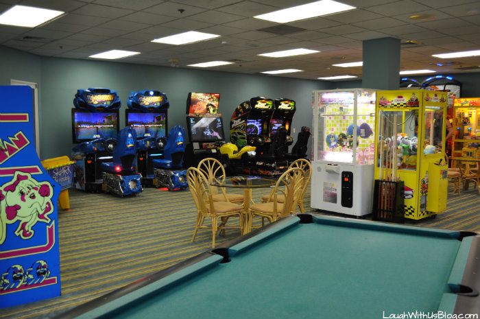 Cypress Pointe Resort Game Room