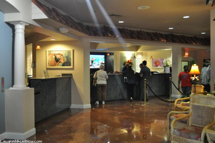 Cypress Pointe Resort Lobby