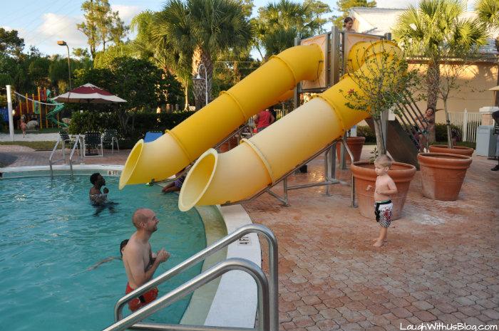 Cypress Pointe Resort Orlando FL Pool Slides