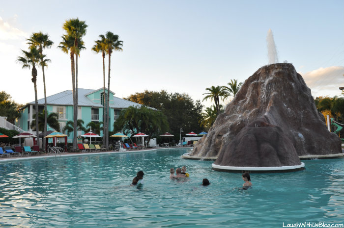 Cypress Pointe Resort Orlando FL Pool Volcano