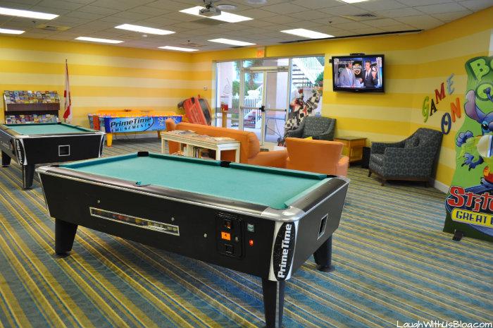 Cypress Pointe Resort Orlando Florida Game Room