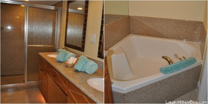 Cypress Pointe Resort master bath