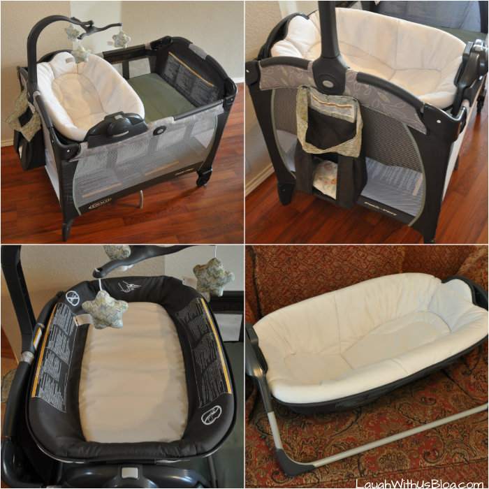 Graco Pack 'n Play Playard Portable Napper & Changer™ #athomewithgraco #ad