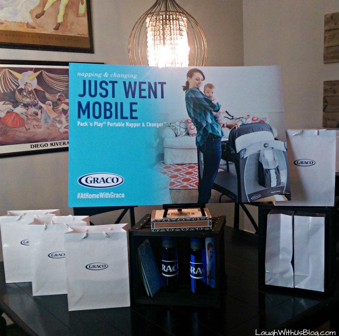 Graco mobile #athomewithgraco #ad