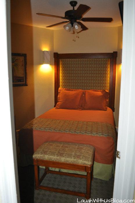 Second bedroom Cypress Pointe Resort Orlando, FL