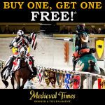 Buy One Get One #Coupon Code for Medieval Times!