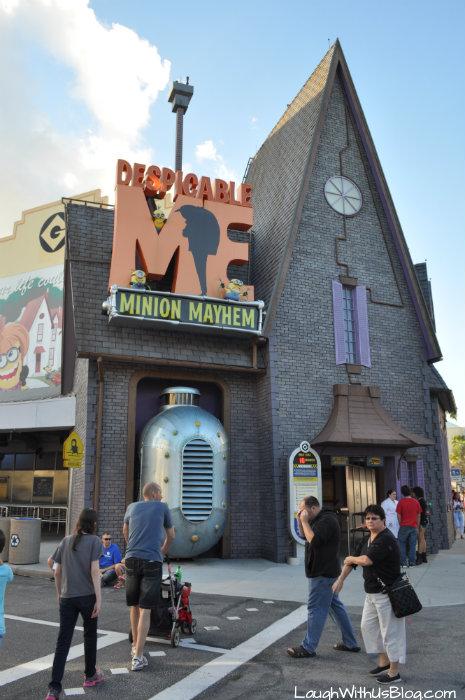 Despicable Me ride Universal Studios Florida