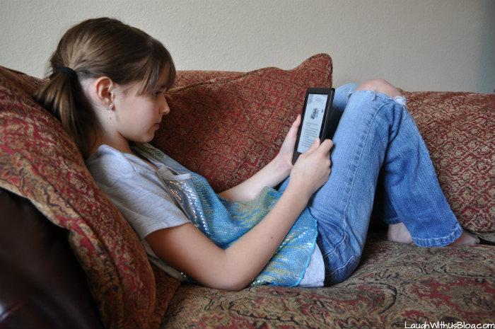 Encourage Reading #KindleforKids #CleverGirls