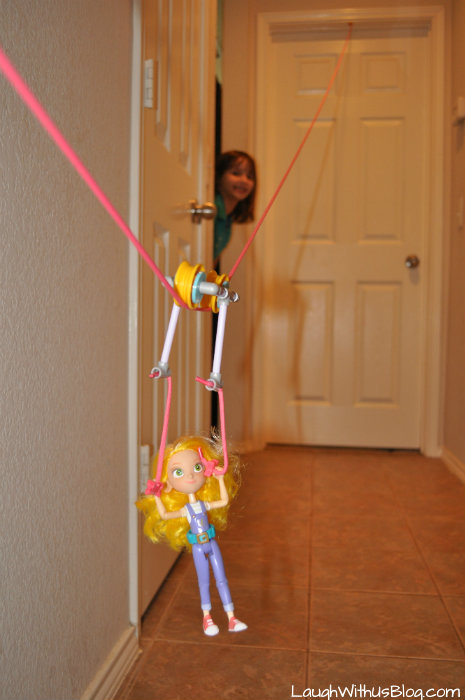 Fun with GoldieBlox Zipline Action Figure #GirlsNeedGoldie #ad