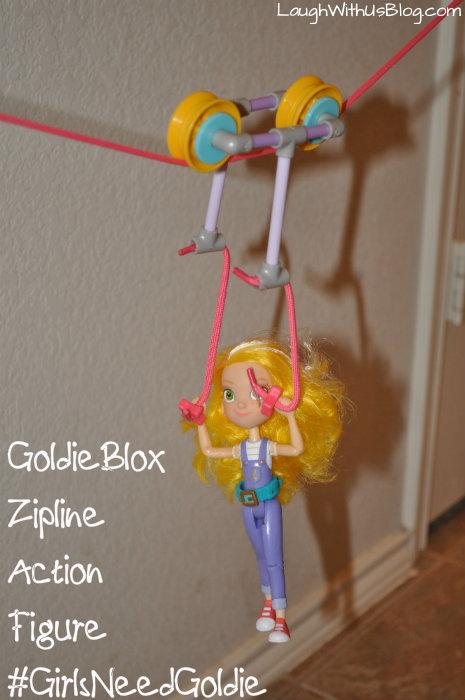 GoldieBlox Zipline Fun Action Figure #GirlsNeedGoldi #ad