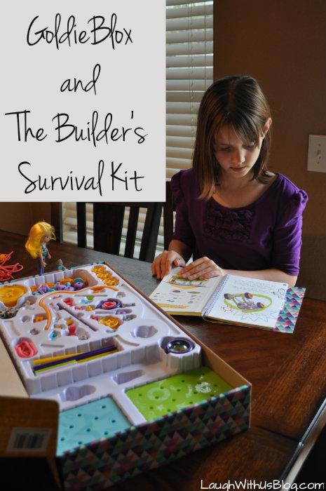 GoldieBlox and TheBuilder's Survival Kit #GirlsNeedGoldie #ad