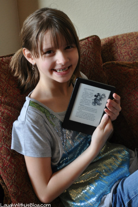 Love to read with Kindle #KindleforKids #CleverGirls