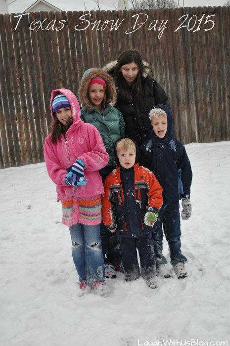 Texas Snow Day