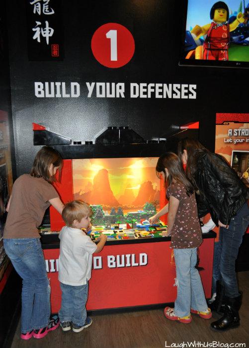 Build your defenses Ninjango Legoland #ad