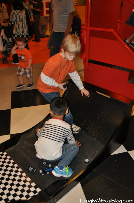 Building and Racing Cars LegoLand Discovery Grapevine #ad