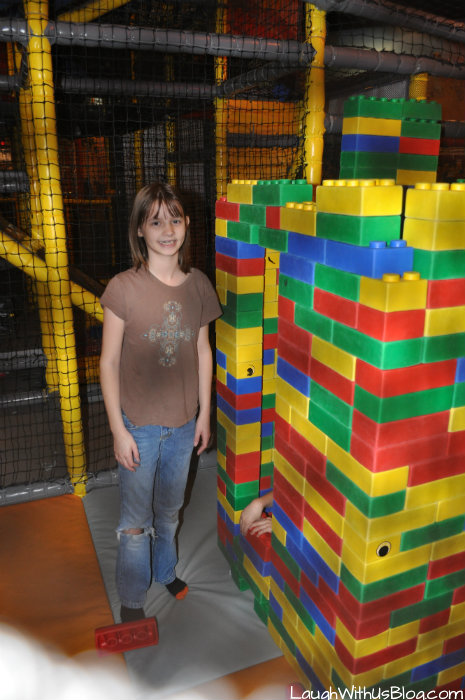 Building at LegoLand Discovery Grapevine #ad