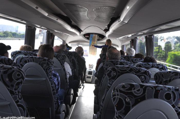 Israel tour bus