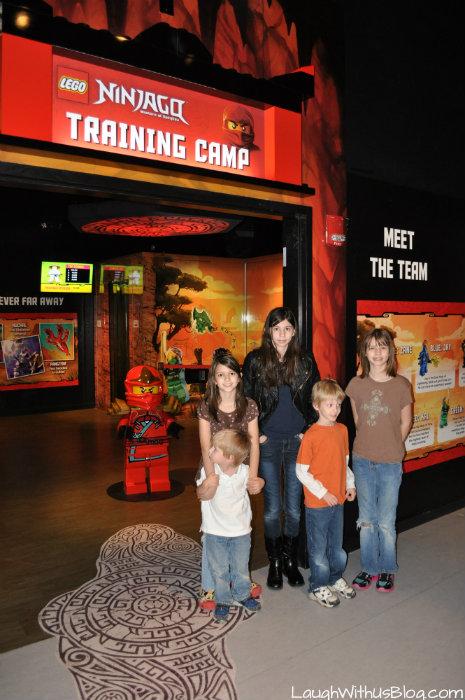 Ninjango Training Camp Legoland Discovery Grapevine #ad