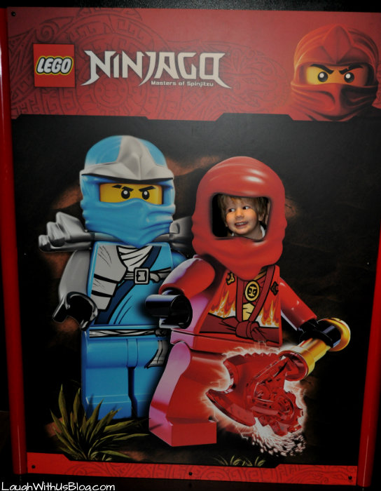 Ninjango fun at LegoLand Discovery #ad