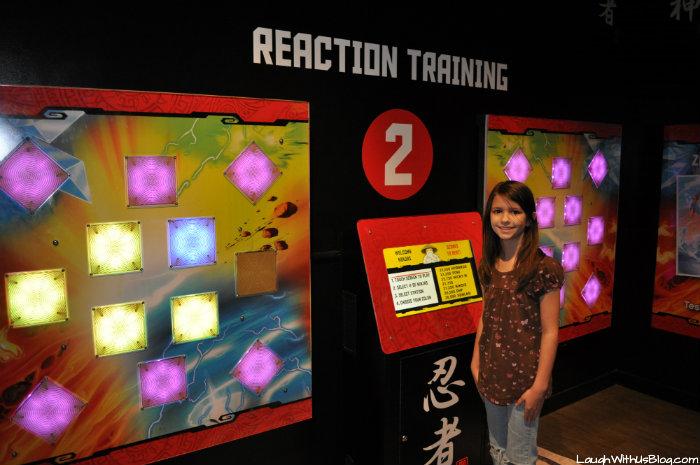 Reaction Training Ninjango Legoland Discovery #ad