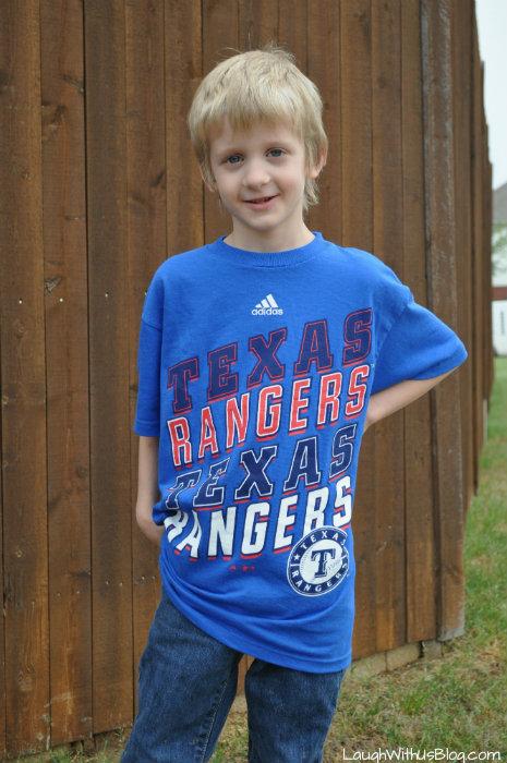 Texas Ranger 6 year old boy #ad #MLBFanatics