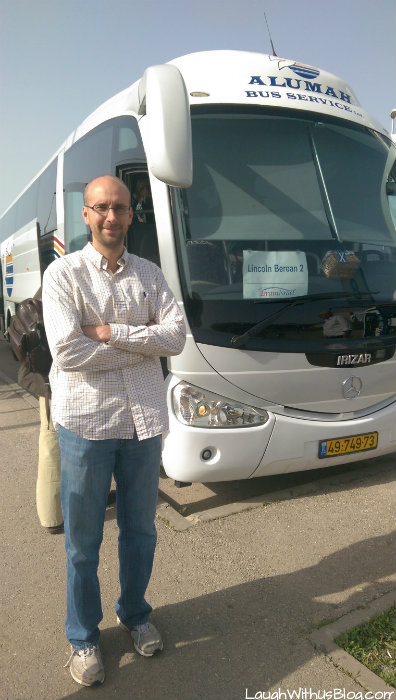 Tour Bus in Israel