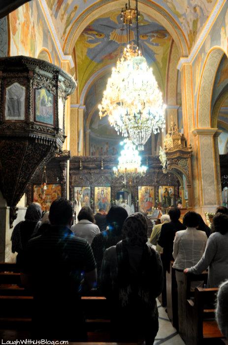 Catholic Church of the Annunciation Nazareth #IsramIsrael