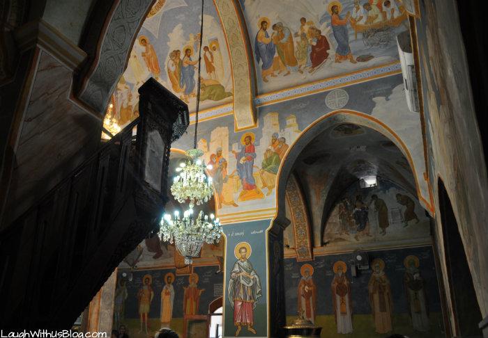 Church of the Annunciation Nazereth ceilings #IsramIsrael