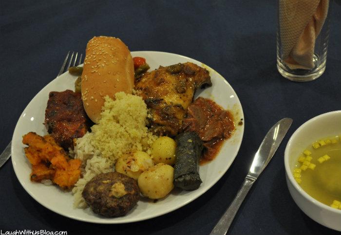 First plate of food in Israel #IsramIsrael