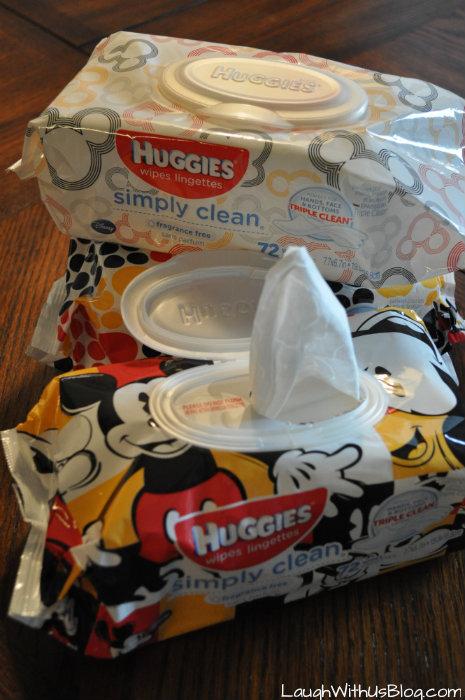 Huggies Simply Clean Wipes #TripleClean