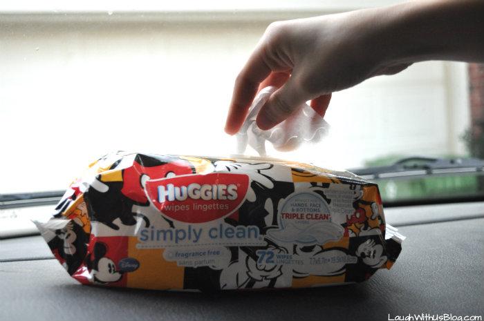 Huggies Simply Clean Wipes #ad #TripleClean