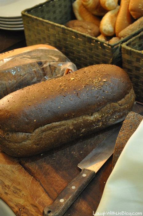 Kibbutz Haon Dining room breads #IsramIsrael