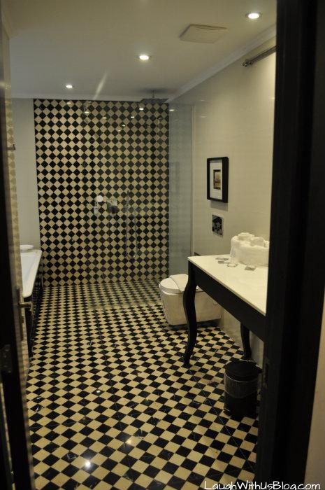 Kibbutz Haon Guest House Bathroom #IsraelTravel