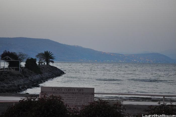 Sea of Galilee at Kibbutz Haon #IsraelTravel