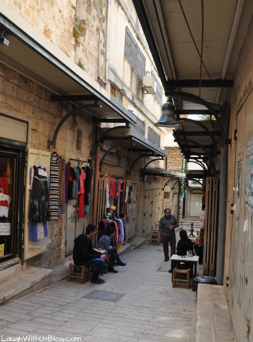 Streets of Nazereth shops not open #IsramIsrael