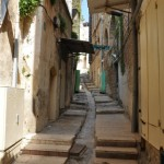 The streets of Nazareth