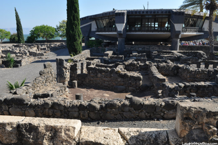Capernaum House of Peter building