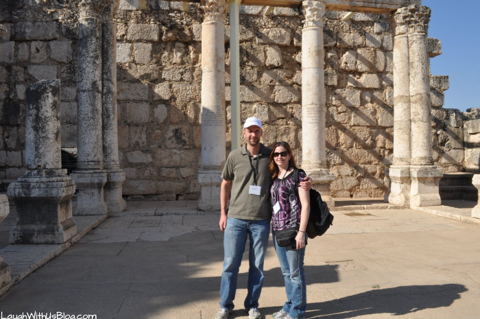 Capernaum Synagogue I was here