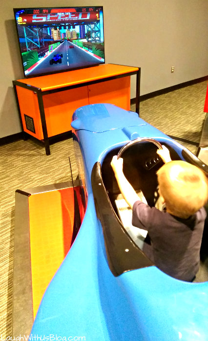 Discovery Museum Speed #MoodyGardens #ad