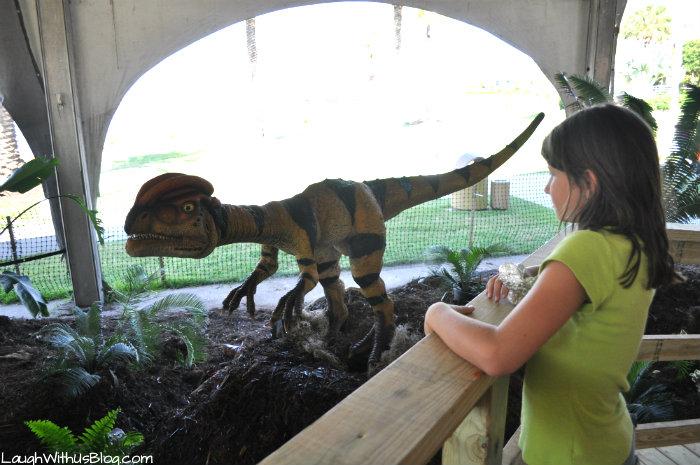 Moody Gardens Dinos Alive #ad