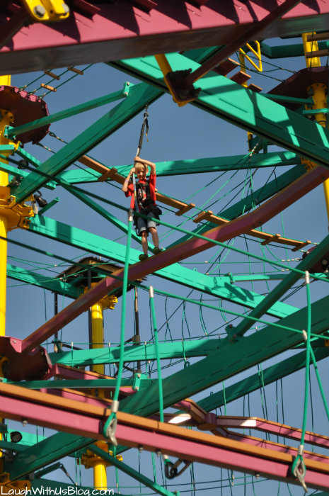 Moody Gardens Ropes Course #ad