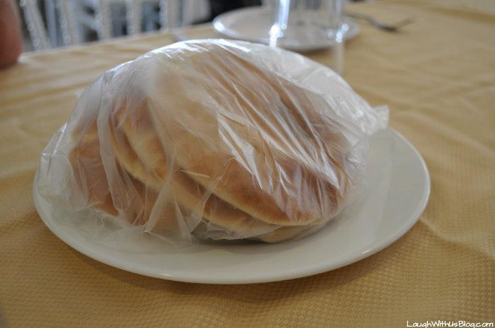 Pita bread Midgal Restaurant