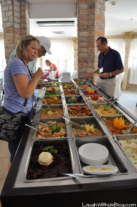 Salad Bar Migdal Restaurant
