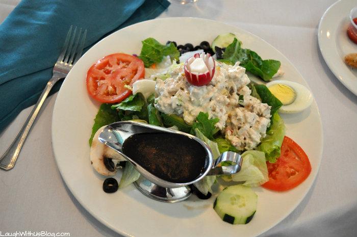 Stuffed Avocado Chicken Salad #MoodyGardens #ad