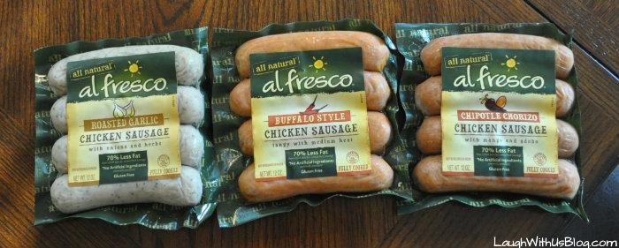al fresco Chicken Sausage #ad