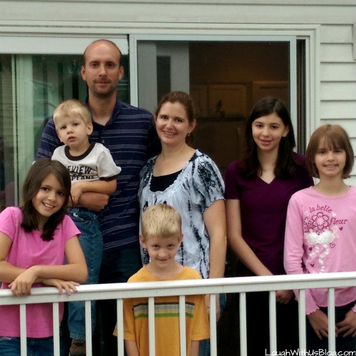 Family of seven photo