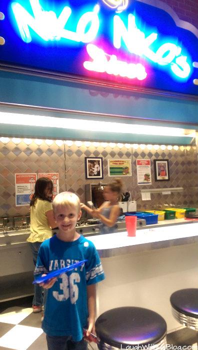 Houston Children's Museum Nikos Restaurant