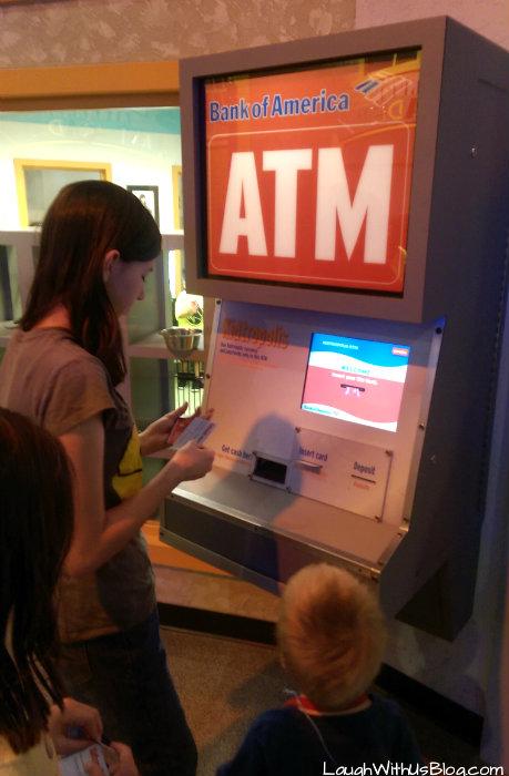 Houston Children's Musuem ATM